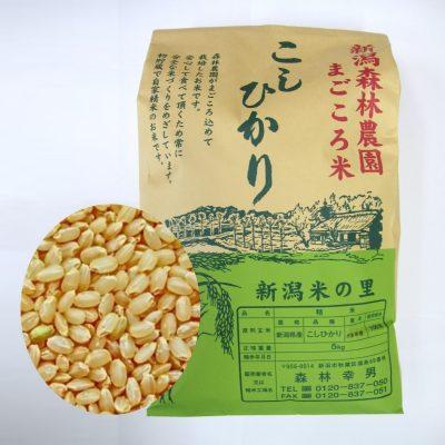 まごころ米 コシヒカリ(玄米)5kg
